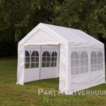 Partytent 3x3 meter zijkant huren - Partytentverhuur Groningen