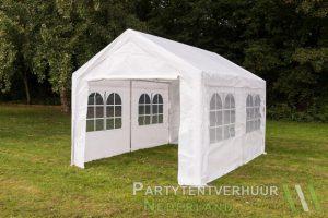 Partytent 3x4 meter zijkant huren - Partytentverhuur Groningen