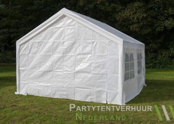 Partytent 4x4 meter achterkant huren - Partytentverhuur Groningen
