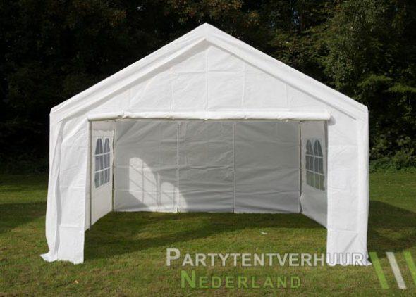 Partytent 4x4 meter voorkant huren - Partytentverhuur Groningen