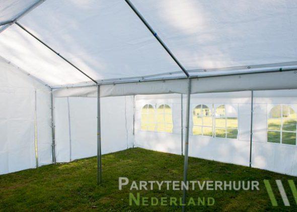 Partytent 6x6 meter binnenkant huren - Partytentverhuur Groningen