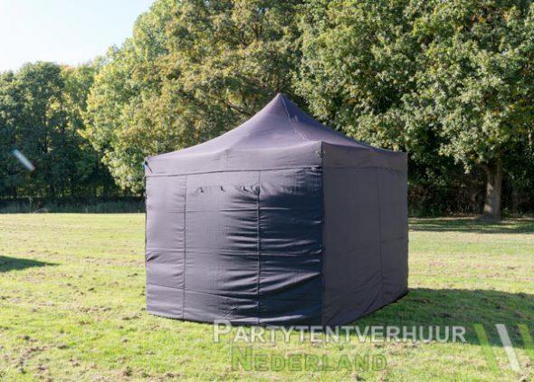 Easy up tent 3x3 meter achterkant huren- Partytentverhuur Groningen