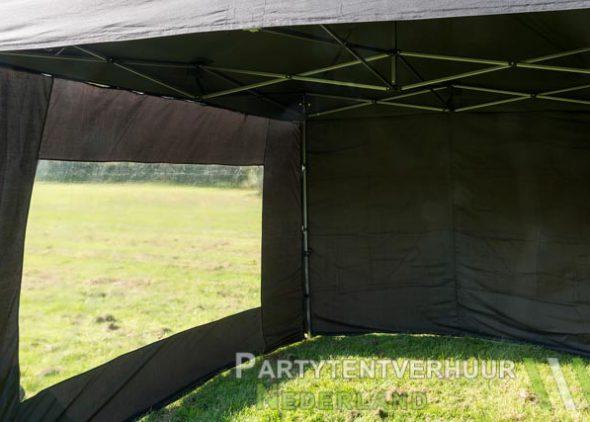 Easy up tent 3x3 meter binnenkant huren - Partytentverhuur Groningen