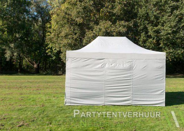 Easy up tent 3x4,5 meter achterkant huren - Partytentverhuur Groningen