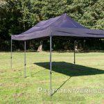 Easy up tent 3x6 meter schuin voorkant huren - Partytentverhuur Groningen