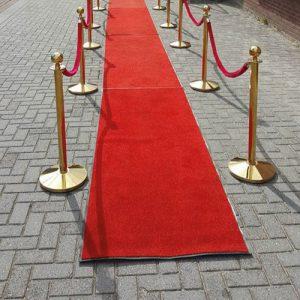 Huur een rode loper in Groningen.