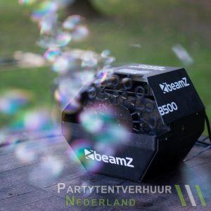 Bellenblaasmachine met bellen huren - Partytentverhuur Groningen