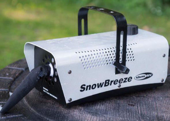 Sneeuwmachine huren - Partytentverhuur Groningen